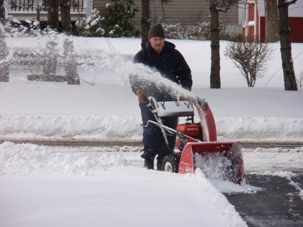 Snow Blower Found : Baby picture monday on tuesday my life and i m